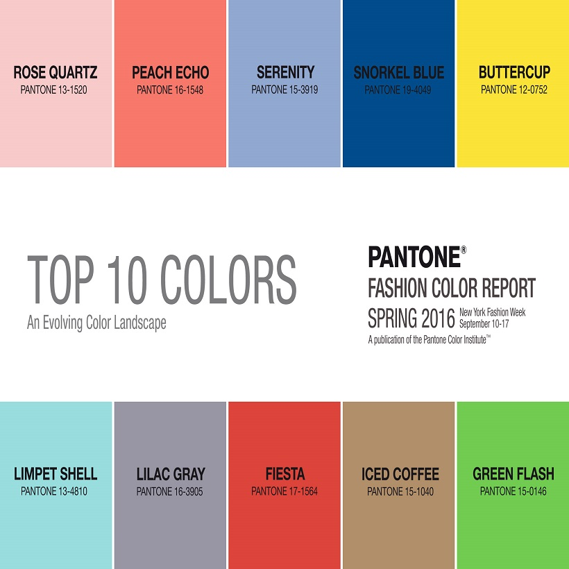 Top 10 color palettes for spring home trends
