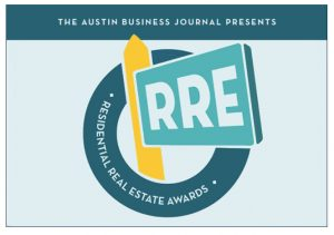 Austin Business Journal Residential Real Estate Award logo