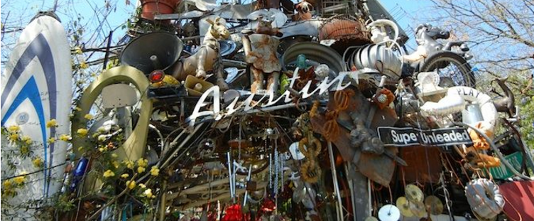 Cathedral of Junk in Austin, Texas