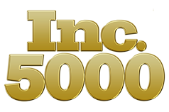 Inc. 5000 award logo showing one of MileStone's home builder awards