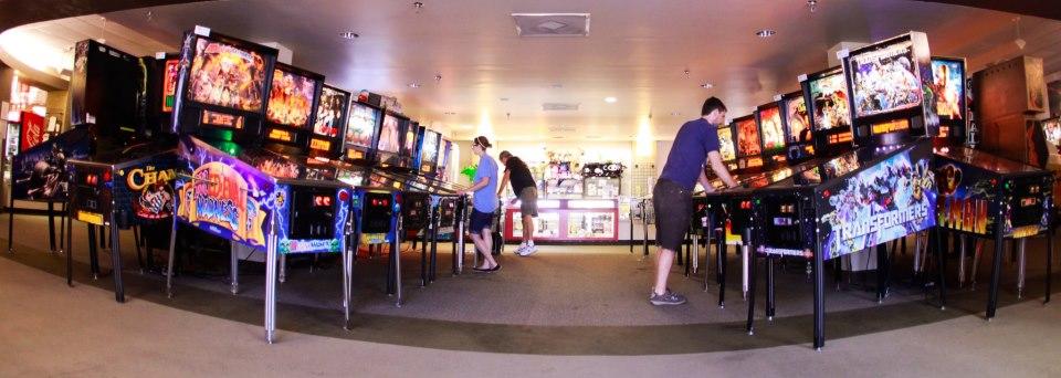 Pinballz Arcade room in the city of Austin, Texas