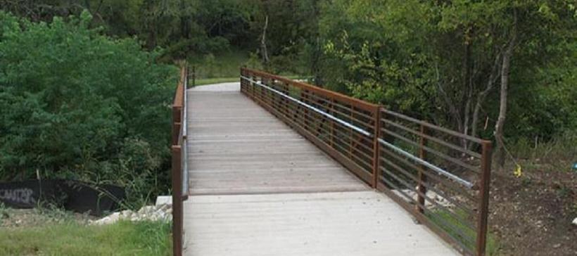 Bridge at Brushy Creek Trail in Cedar Park, Texas