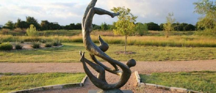 Sculpture at Cedar Park Sculpture Garden