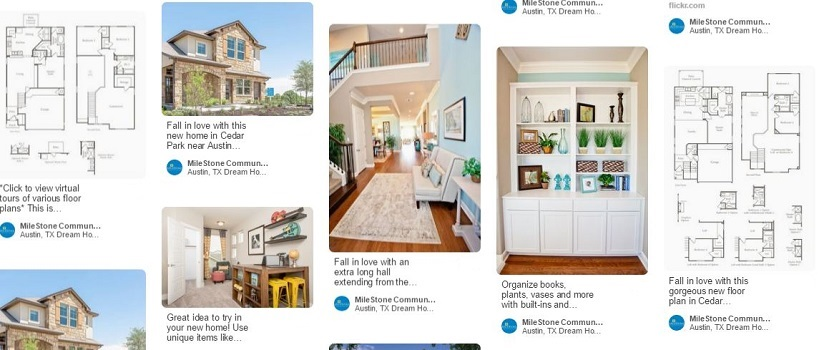 Pinterest Home Decor Ideas Displayed Through Various Pins Of Floor Plans And Interior Images