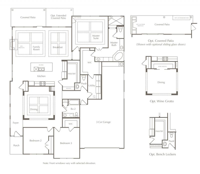 A drawing of a home's layout to help people find a floor plan in Austin, Texas