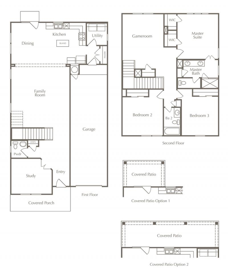 Enclave Floor Plans 4 Austin Homes For Sale New Homes Austin Milestone Home Builder Blog
