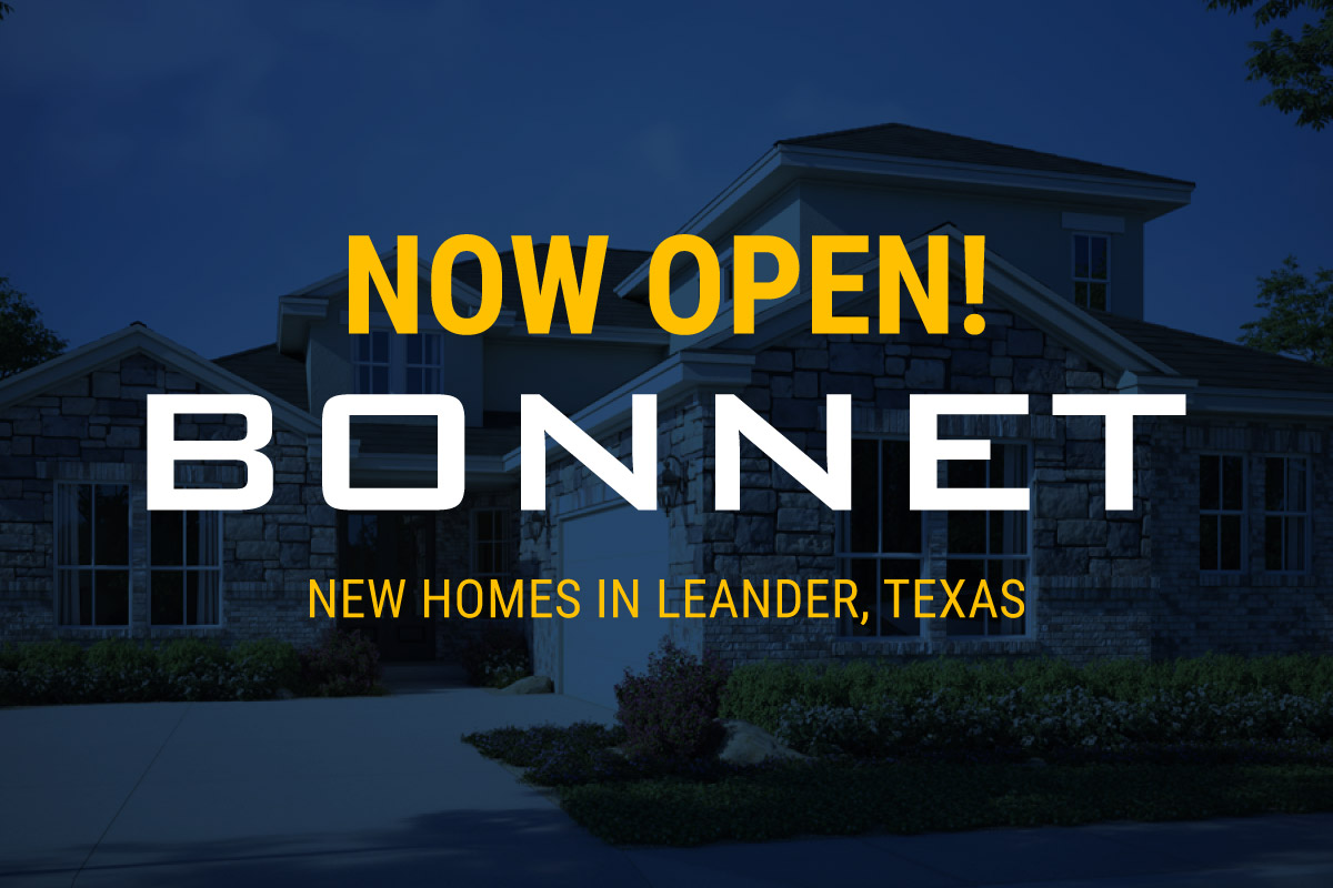 Bonnet New Homes Available