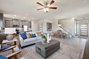 open living floor plan