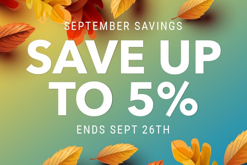 savings on new homes